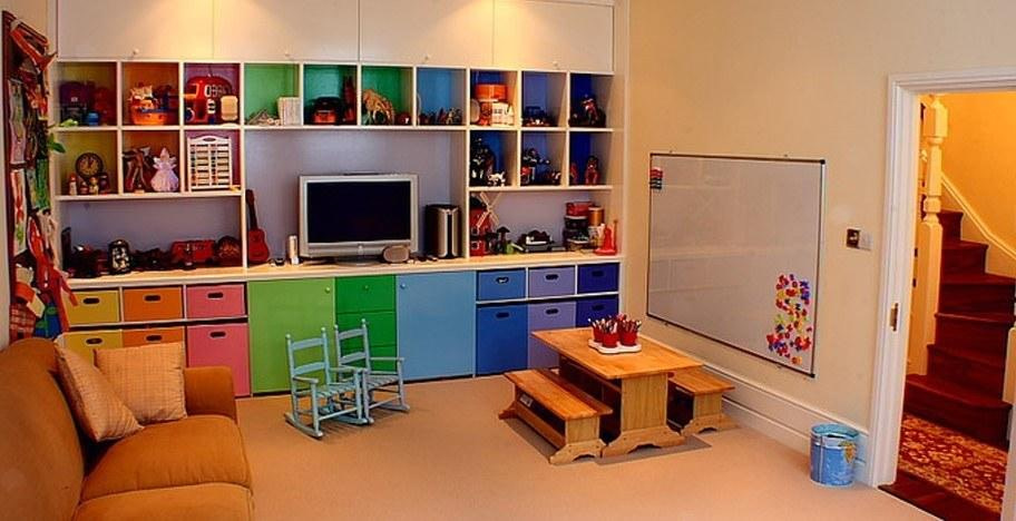basement finished kids playroom