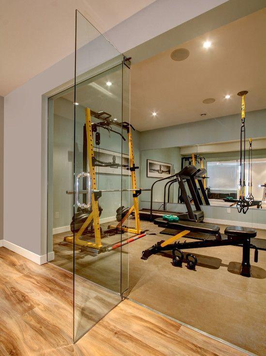 home basement renovation gym