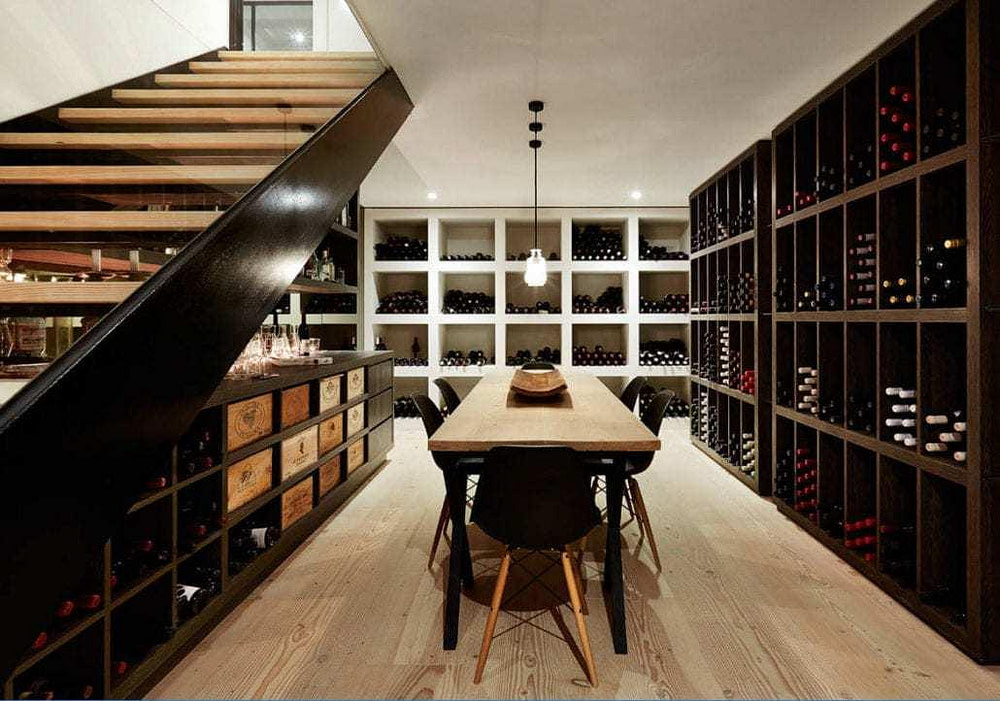 Building a Wine Cellar Basement Modern Cyrus Construction