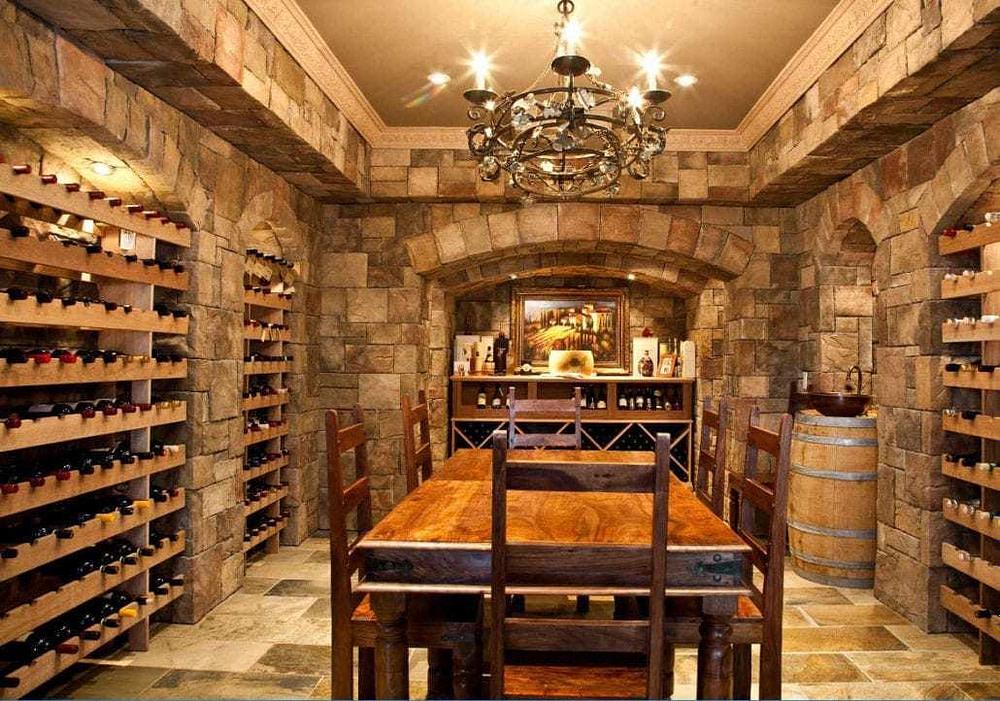 Building a Wine Cellar Basement Cyrus Construction