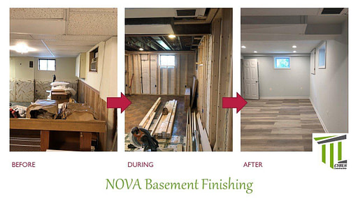basement renovation College park MD