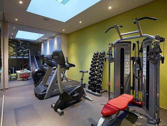 Home Basement Gym Remodeling