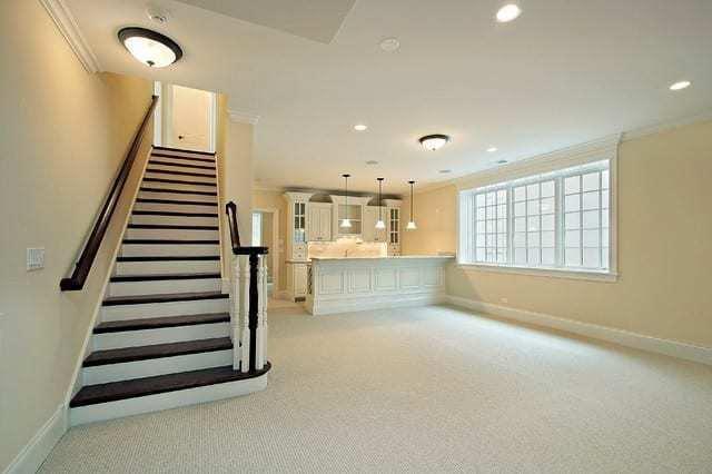 lighting in basement renovation