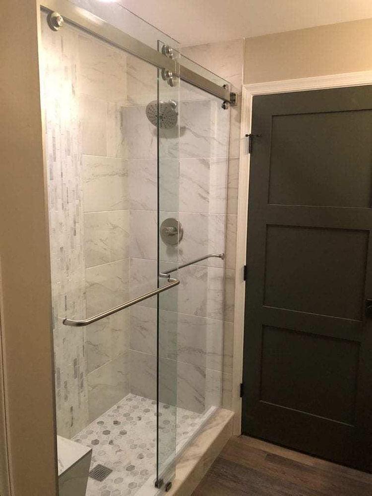 shower basement renovation