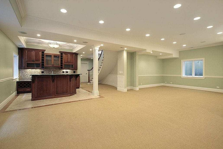 Recessed Lighting Basement lighting ideas Cyrus Construction